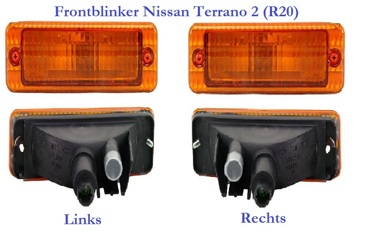 TVR S Front flasher Terrano Frontblinker 01