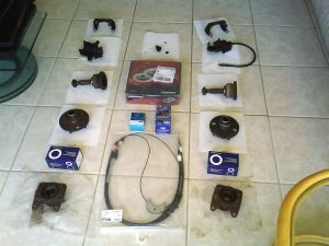 01-TVR S Disc brakes conversion rear kit